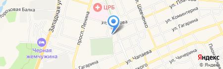 Терминал Юго-Западный банк Сбербанка России на карте Аксая