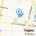 Подземная парковка на карте Ярославля