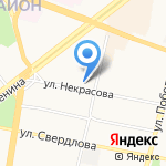 ТриЯ на карте Ярославля