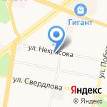 Управление Федеральной службы государственной регистрации на карте Ярославля
