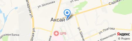 Банкомат Юго-Западный банк Сбербанка России на карте Аксая