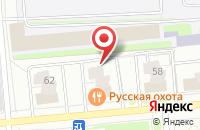 Схема проезда до компании Русская охота в Ярославле