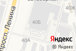 Схема проезда до компании ТБМ Маркет в Аксае