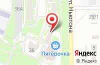 Схема проезда до компании Горыныч в Ярославле