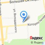 Строительная компания на карте Ярославля