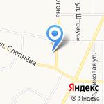 Поликлиника №2 на карте Ярославля