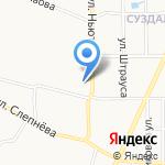 Ателье по пошиву и ремонту обуви на карте Ярославля