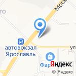 Банк СГБ на карте Ярославля