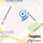 Ярославская областная клиническая психиатрическая больница на карте Ярославля