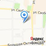 Детский сад №75 на карте Ярославля
