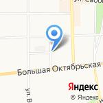 Юношеская библиотека им. Н.А. Некрасова на карте Ярославля