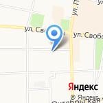 Алмаздент на карте Ярославля