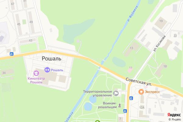 Ремонт телевизоров Город Рошаль на яндекс карте
