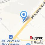 Оверпин на карте Ярославля