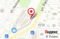 Схема проезда до компании Парадайз Авто в Нагорном