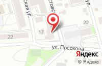 Схема проезда до компании Точка Роста в Ярославле