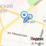 Строитель на карте Ярославля