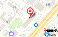 Схема проезда до компании Оверпин в Ярославле