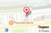 Схема проезда до компании AMS Software в Ярославле