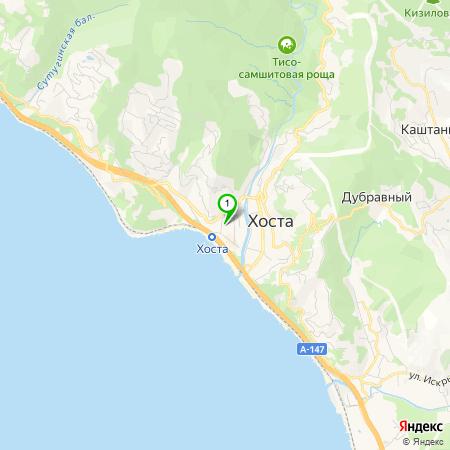 национального карта города хоста с улицами фото некоторое
