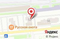 Схема проезда до компании Хлеб и Кофе в Ярославле