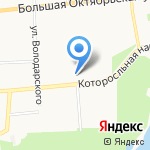 Хлеб и Кофе на карте Ярославля