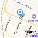 Наяда-Вологда на карте Вологды