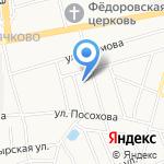 Твердость на карте Ярославля