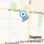Средняя общеобразовательная школа №7 на карте Ярославля