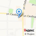 Газпром Межрегионгаз Ярославль на карте Ярославля