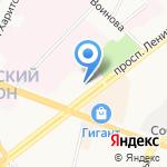 Прокуратура Ленинского района на карте Ярославля
