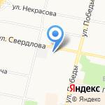 Шинник на карте Ярославля