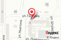 Схема проезда до компании Квестoff в Ярославле