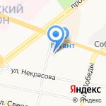Всероссийское общество глухих на карте Ярославля