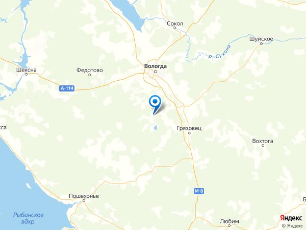 населенный пункт Неверово на карте