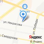 Карэлайф на карте Ярославля