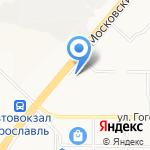 Дикон авто на карте Ярославля