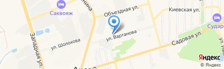 КМК Сервис на карте Аксая