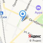Промтовары на карте Вологды