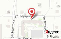 Схема проезда до компании ЯТКК в Ярославле