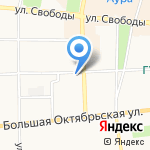 Домов групп на карте Ярославля
