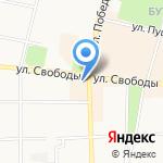Ключ на карте Ярославля