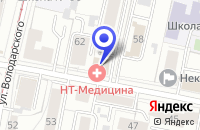 Схема проезда до компании МОСКОВСКИЙ ИНДУСТРИАЛЬНЫЙ БАНК в Ярославле