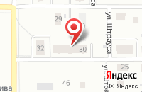 Схема проезда до компании Лас Мамас в Ярославле