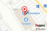 Схема проезда до компании Рони в Ярославле
