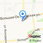 Военная комендатура гарнизона 2 разряда на карте Ярославля