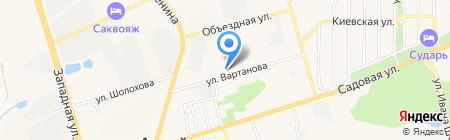 Компьютерная мастерская №1 на карте Аксая