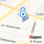Ярославский градостроительный колледж на карте Ярославля