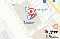 Схема проезда до компании СВ Групп в Ярославле