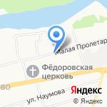 Школа танца Михаила Борголышкинского на карте Ярославля